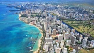Waikiki Aerial