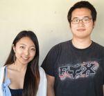 Grace Jung and Jihan Kim