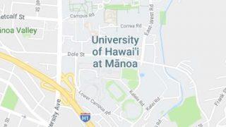 UH Manoa Map